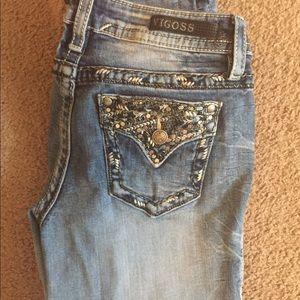 Worn once women's Vigoss jeans!